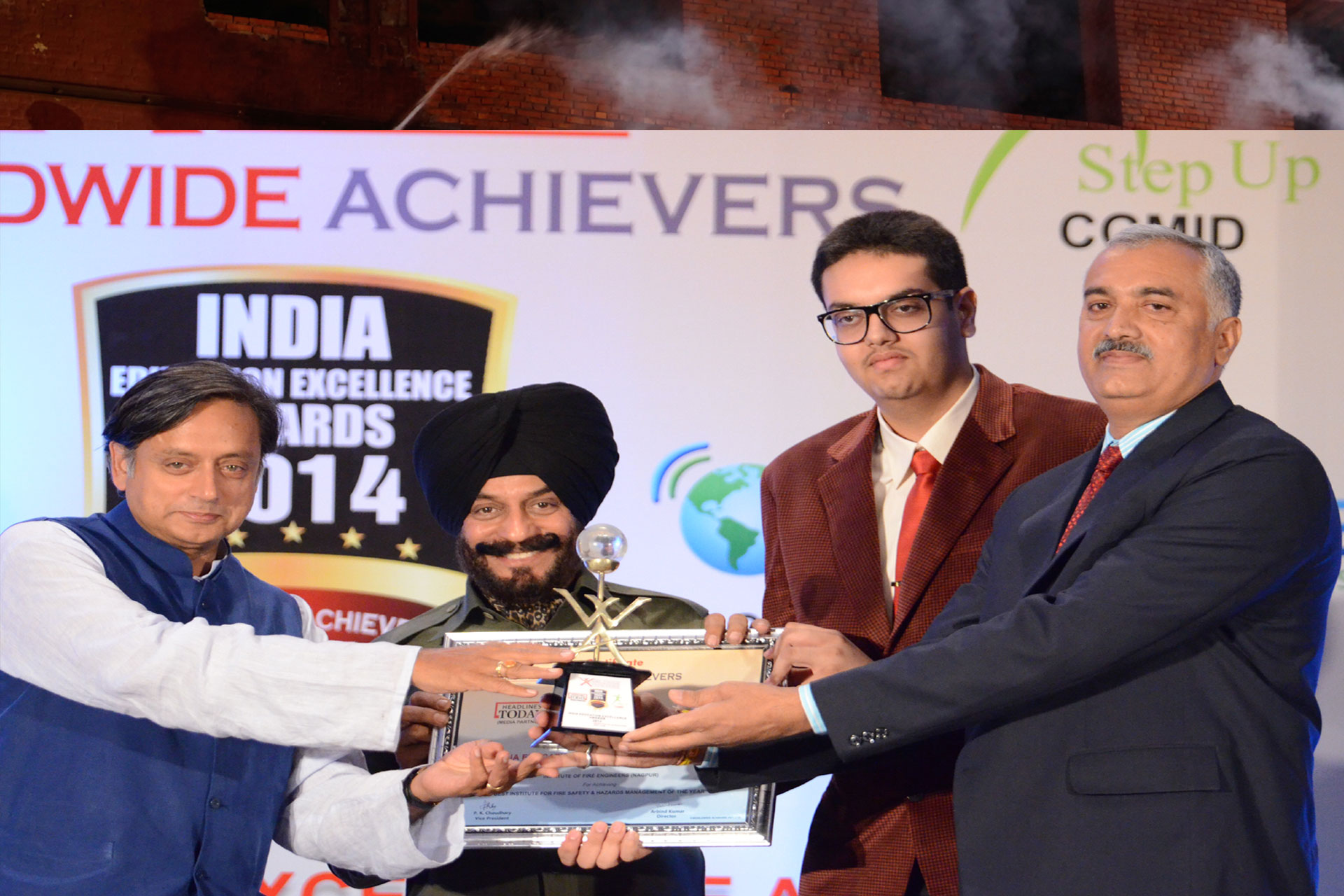 IFE Awarded INDIA EDUCATION EXCELLENCE AWARDS 2014 by H.R.D. Minister Govt. of India in New Delhi